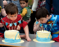 Oscar and Isaac's 4th Birthday party